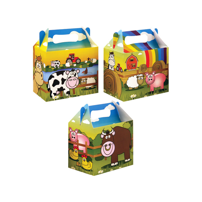 Farm Themed Party Lunch Box