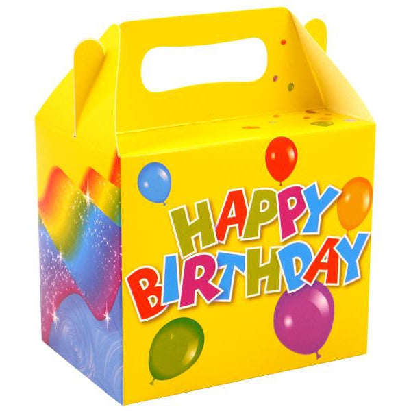Happy Birthday Party Lunch Box