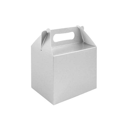 Silver Party Lunch Box