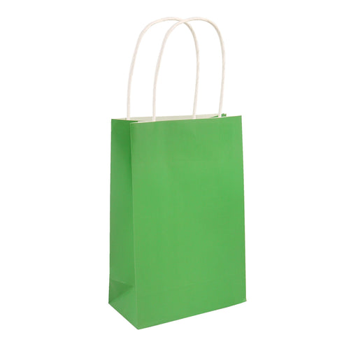 Party Bag Green With Handles