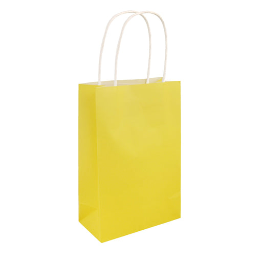 Party Bag Yellow With Handles