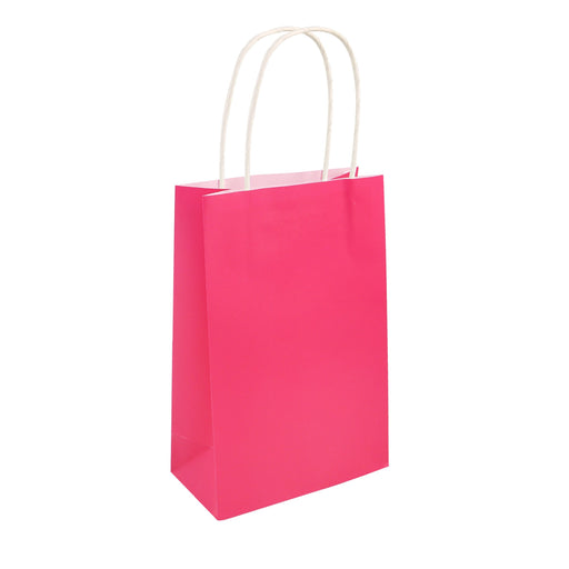 Party Bag Hot Pink With Handles
