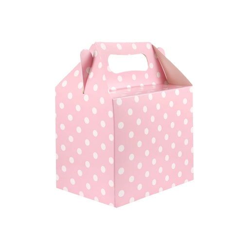 Baby Pink Polka Dot Party Lunch box