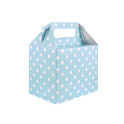 Baby Blue Polka Dot Party Lunch Box