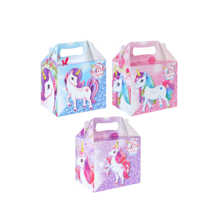 Unicorn Themed Party Lunch Box