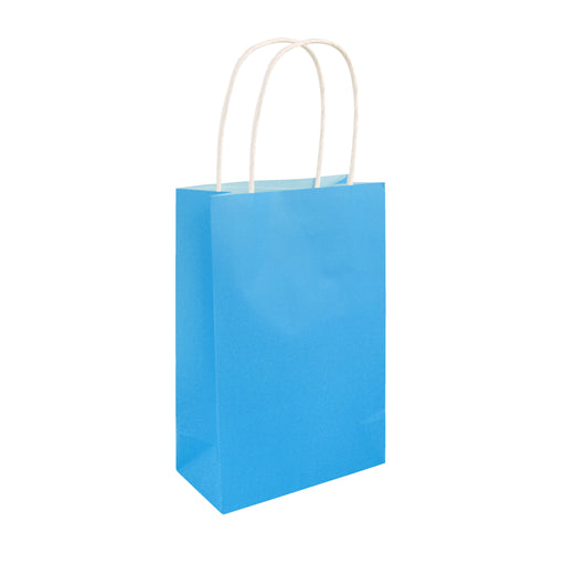 Party Bag Neon Blue With Handles