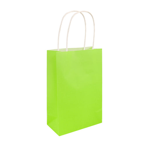 Party Bag Neon Green With Handles