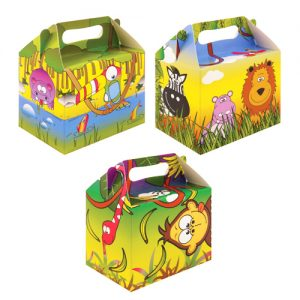 Jungle Themed party Lunch Box