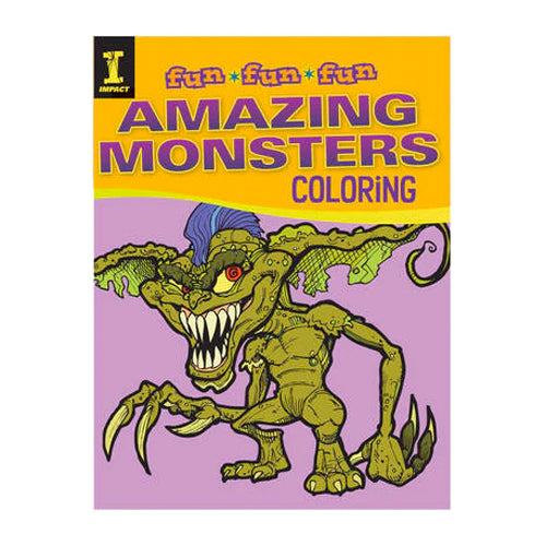 Fun Amazing Monsters Colouring Book