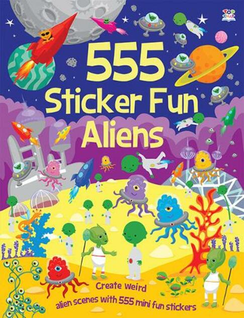 Alien Bumper Sticker Book