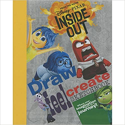Disney Pixar Draw Feel Create Book