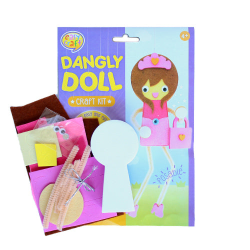 Princess Dangly Doll Craft Kit