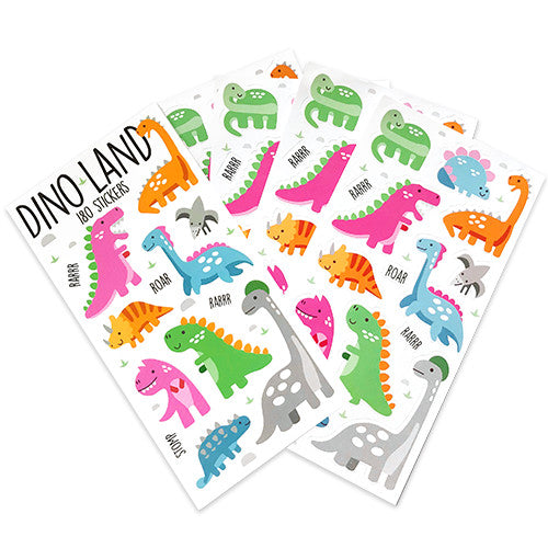 Dinosaur land Mini Sticker Book (12 Sheets)