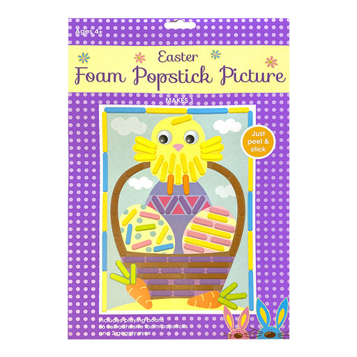 Easter Chick Mega Popstick Picture Kit