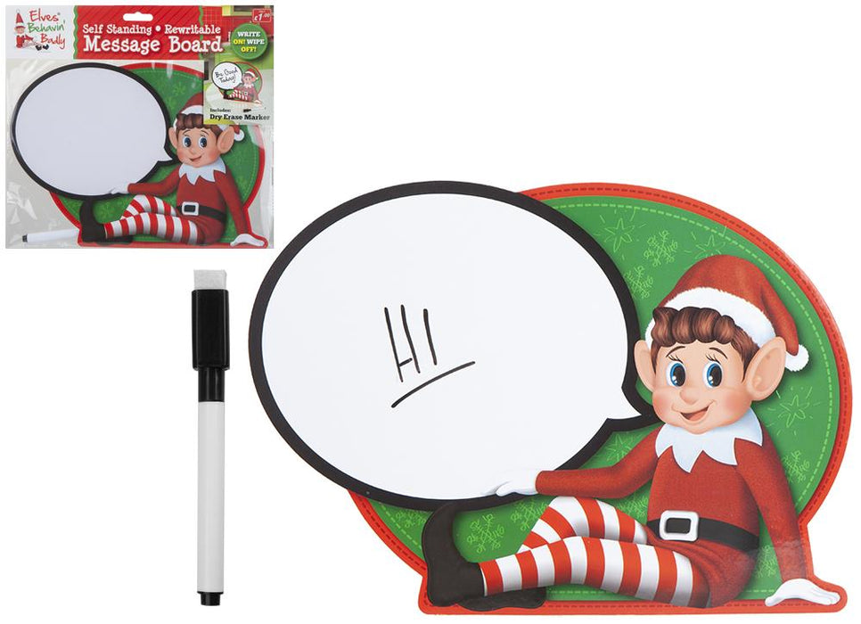 Elves Self Standing Rewritable Message Board