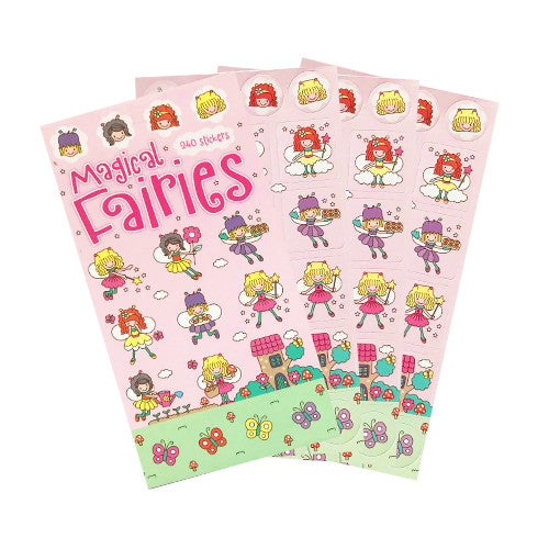 Magical Fairies Mini Sticker Book (12 Sheets)