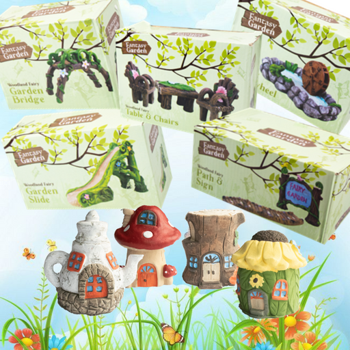 6 Piece Fairy Garden Set