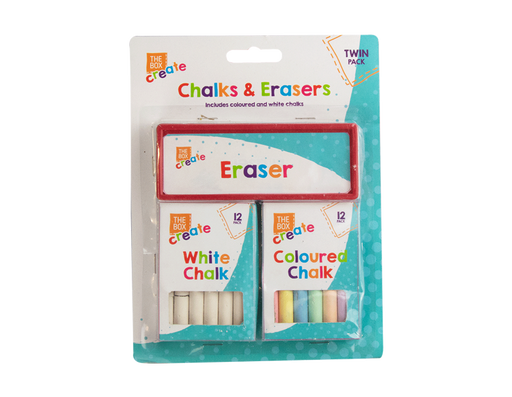 Chalk and Eraser Set