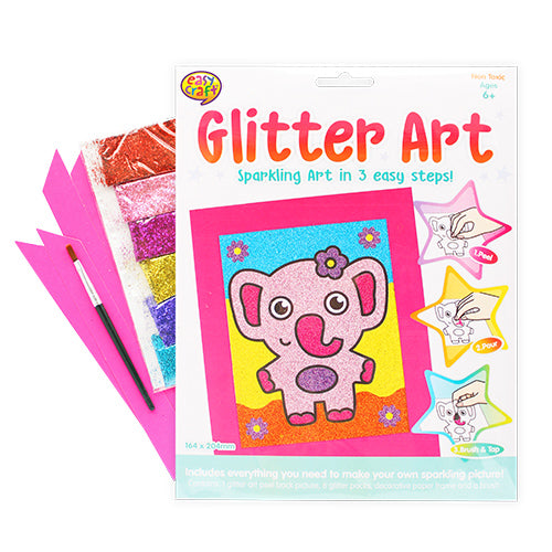 Elephant Glitter Art Craft Kit