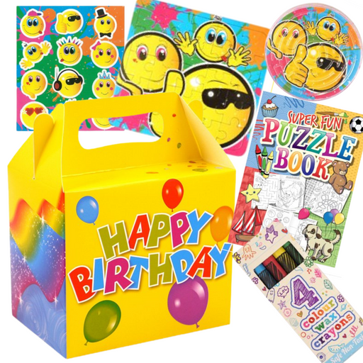 Happy Birthday Pre-Packed Lunch Boxes