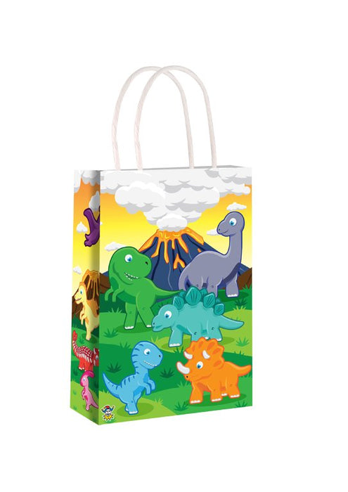 Dinosaur Party Bag With Handles