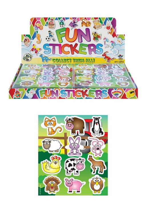 Farm Animal Sticker Sheets