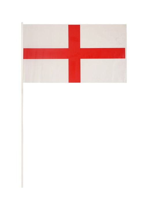England Hand Flag with Stick
