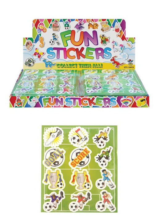 Football Sticker Sheets