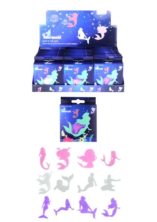 Glow In The Dark Mermaid Shapes