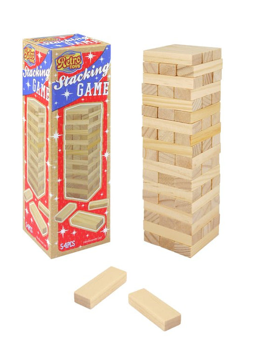 Wooden Jenga Stacking Game
