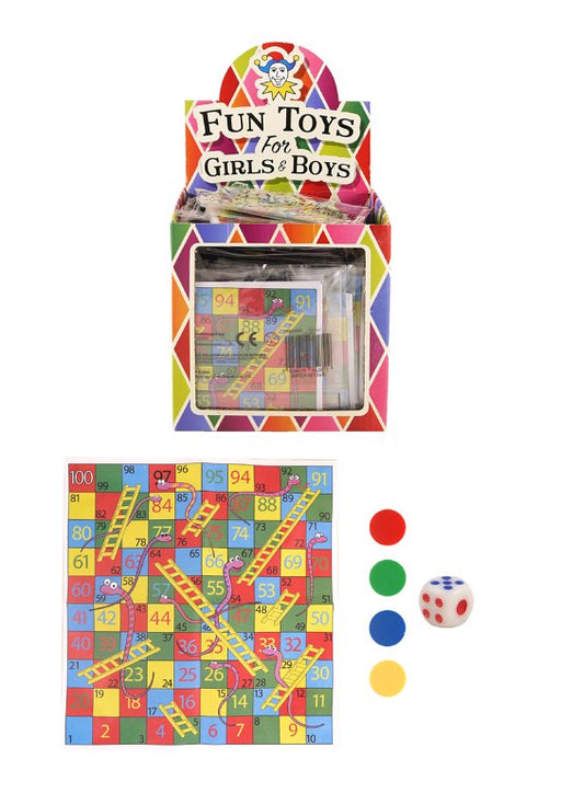 Mini Snakes & Ladders Game