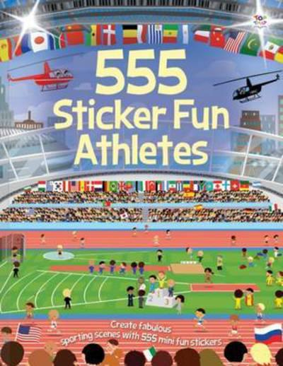 Athletes Sticker fun book