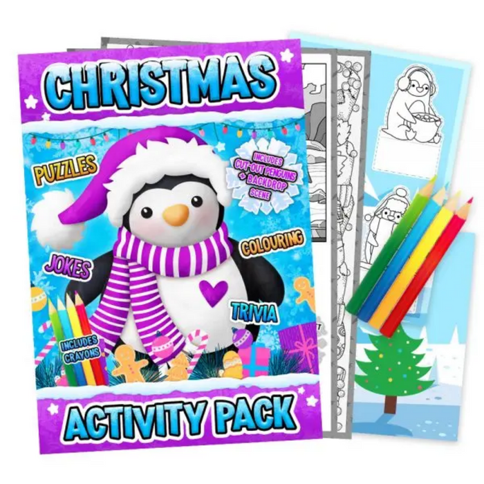 Christmas Activity Pack Penguin
