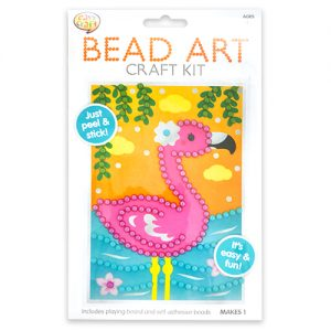 Flamingo Bead Art Craft Pack