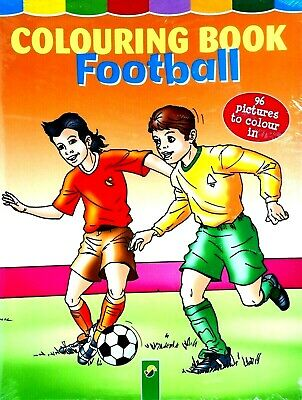Mega Football Colouring Book