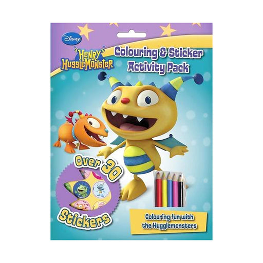 Henry HuggleMonster Activity Pack