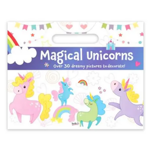 Magical Unicorn Activity Pad