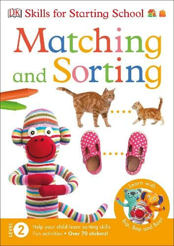 Matching And Sorting Mega Activity Book