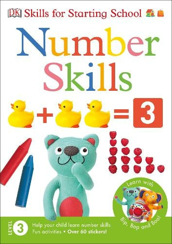 Number Skills Mega Activity Book