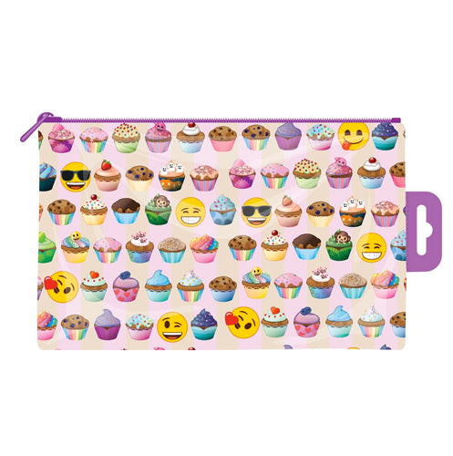 Emoji Cupcake Pencil Cast