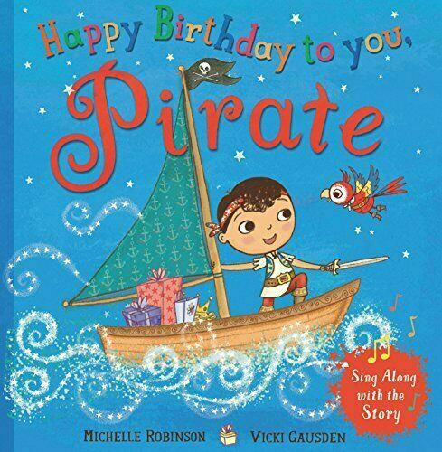 Pirate Happy Birthday Super Book