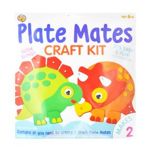 Dinosaur Plate Mate Craft Kits