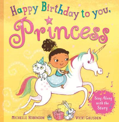 Princess Happy Birthday Super Book