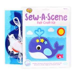 Whale Sew a Scene Craft Kit