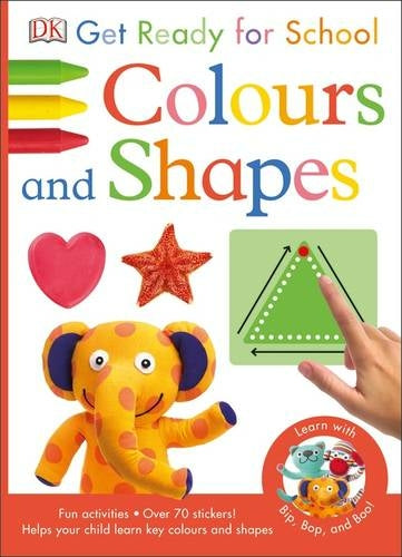 Colours And Shapes Mega Activity Book