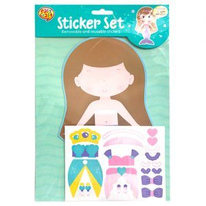 Mermaid Fun Sticker Set