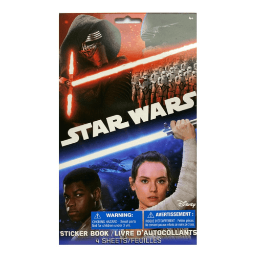 Disney Star Wars Sticker Book 4 Sheets