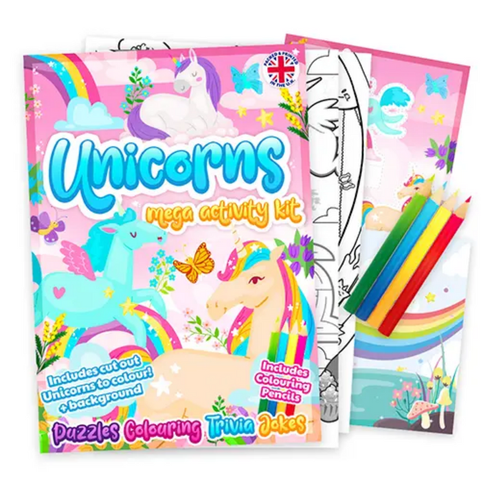 Unicorn Mega Activity Pack