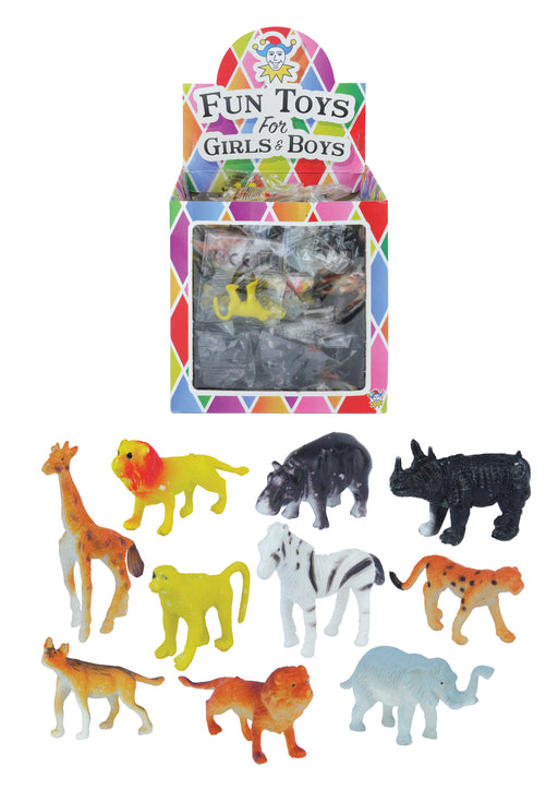 Jungle animals 4-6cms