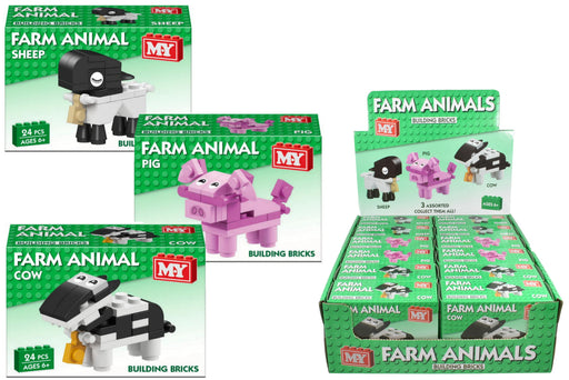 Farm Animal Brick Sets